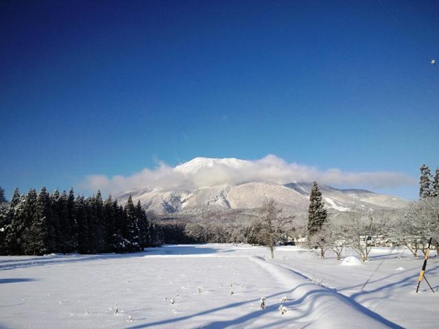 今日の黒姫山20111228