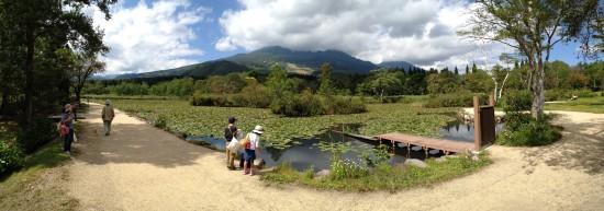 いもり池へ20140921-1