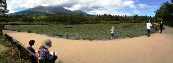 いもり池へ20140921-4