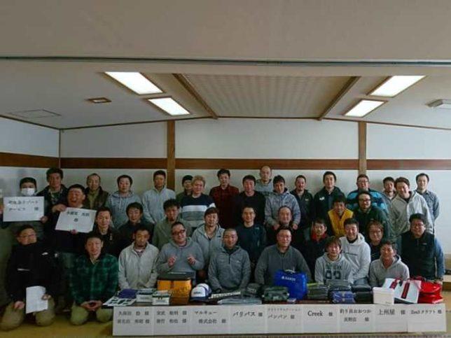 長野・北信地区商工会青年部親睦会(ワカサギ釣り大会)開催20190305-5