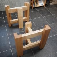 テーブル・座卓兼用脚(ホワイトアッシュ)を製作しました