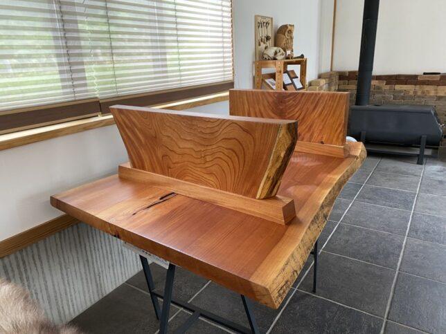 USED品-欅一枚板座卓限定販売20210812-8