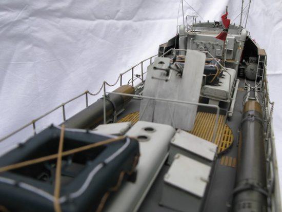 魚雷艇完成!(黒柿の船台)20161213-3