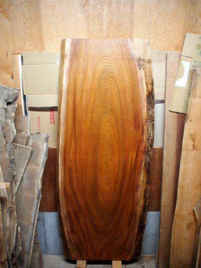 欅大型一枚板天板素材20170523