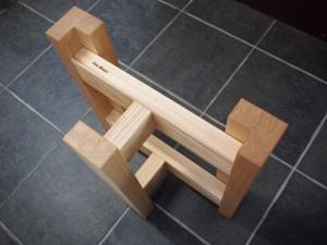 テーブル・座卓兼用脚(ホワイトアッシュ)3