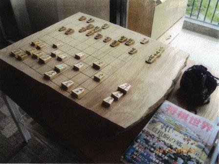 欅の将棋盤(欅一枚板厚盤)4