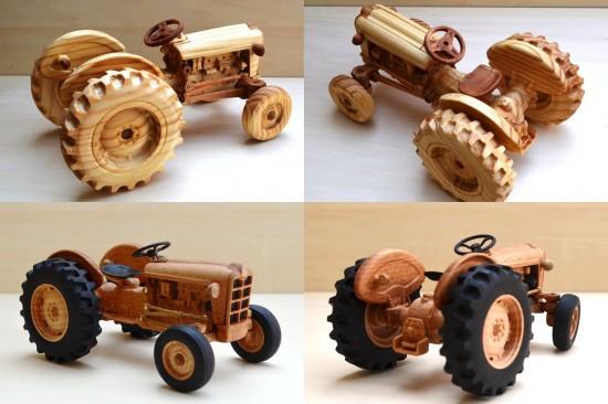 木製プラモデル「FORD871」2