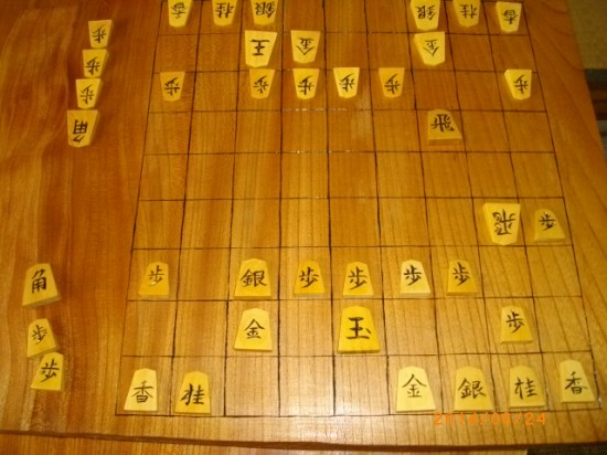 将棋駒作りの様子3