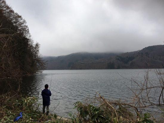 野尻湖のルアー釣り解禁日20170422-3