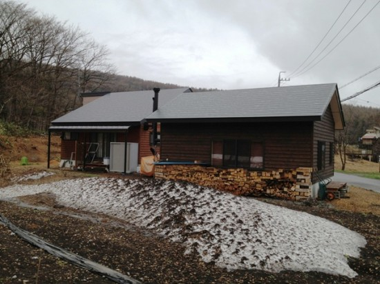 雪解け2012