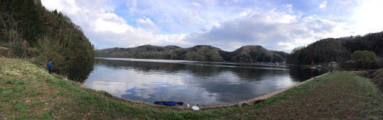 野尻湖のルアー釣り20170506