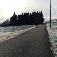 信州・黒姫今朝の風景20141120