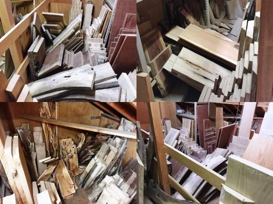 大地震後の作業場の様子20141122夜-4