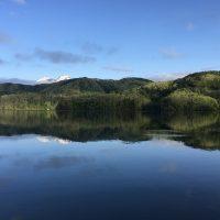 今日も日の出とともに野尻湖へ20170514