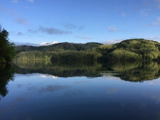 今日も日の出とともに野尻湖へ20170514-1