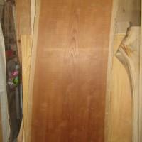 長野県松本市・岡様の欅一枚板テーブル製作開始20131126
