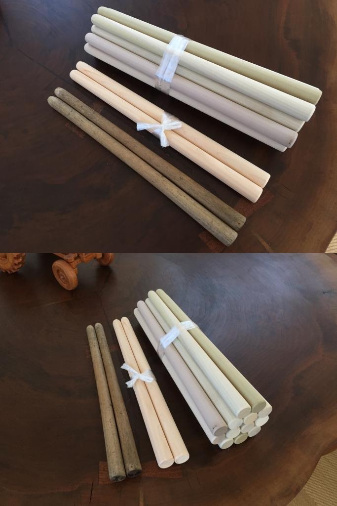 銘木大鼓バチオーダー製作事例20170622-1