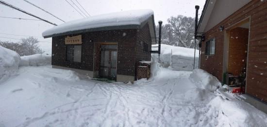 今日の信州・黒姫20150119~雪!~