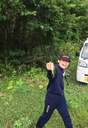 バス釣り、今朝は場所を変えて。。20170716-12