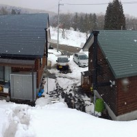 今日の信州・黒姫20150302~春の雪が降っています・大停電発生~
