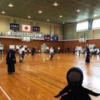 剣道の試合へ20170827