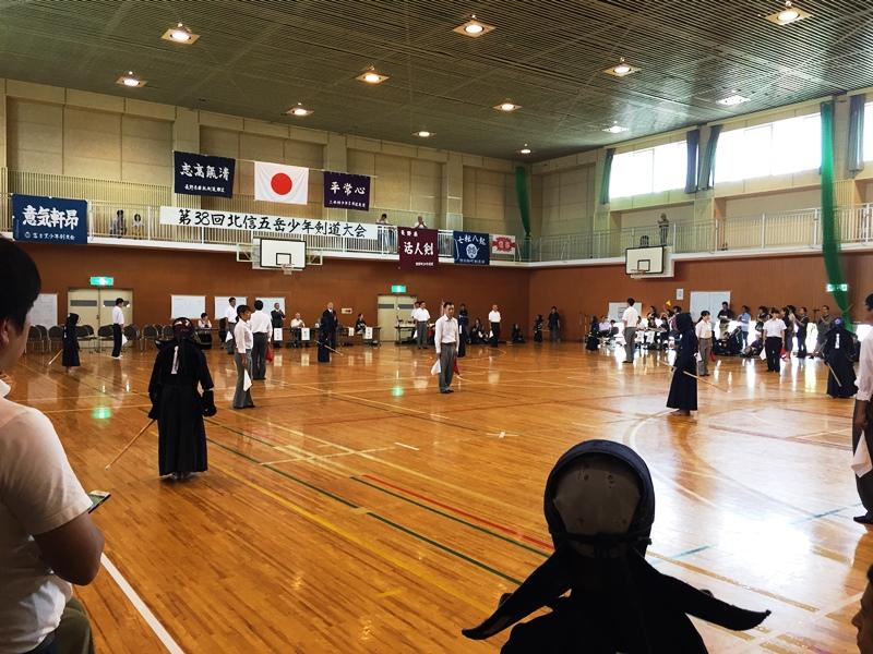 第38回北信五岳少年剣道大会20170827-1