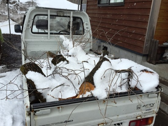 今日の信州・黒姫20150325~3日間雪が降り続いています~