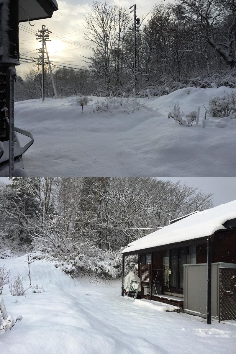今シーズン初の積雪20171119-1