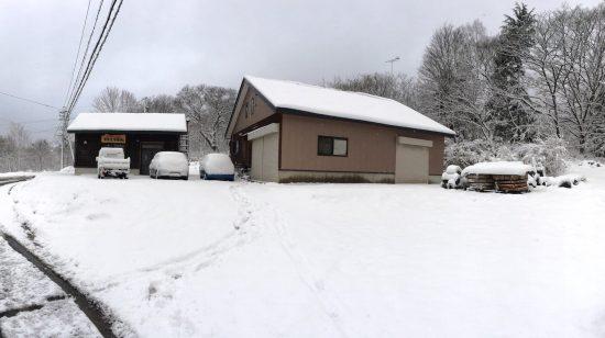 今シーズン初の積雪20171119-3