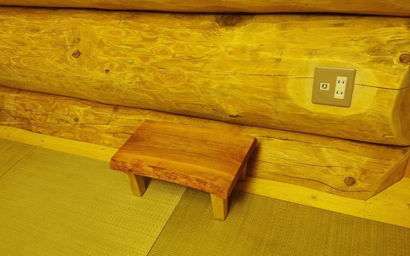 お客様のDIY作品「山桜一枚板のミニテーブル」~神奈川県・枡岡様20200929