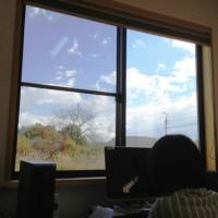 事務所の窓からの風景20121102