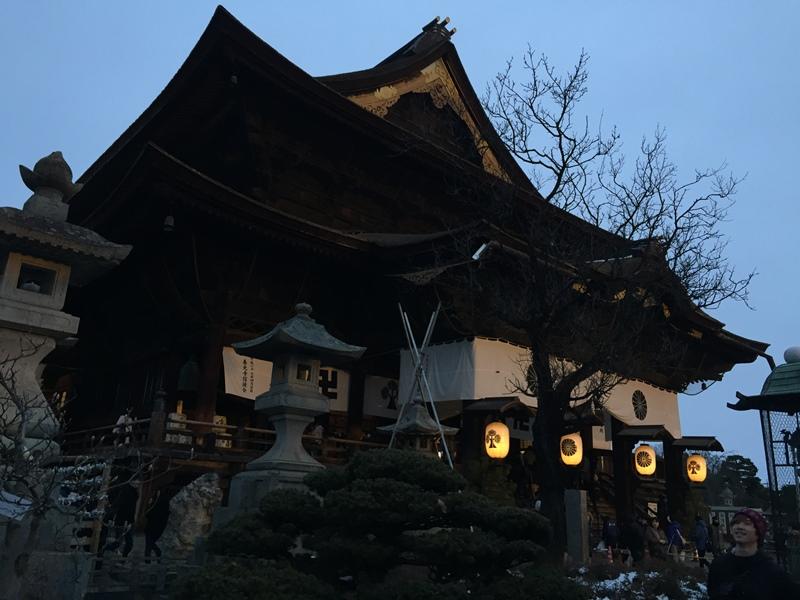 善光寺へ初詣2018-1