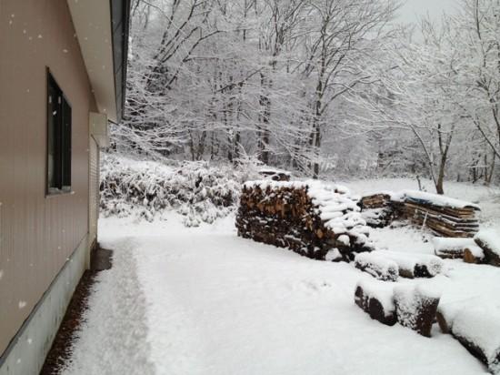 根雪になるかも?!20121127-2