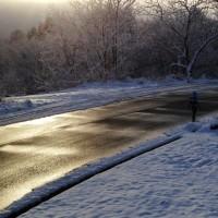 今朝の気温はマイナス5度!