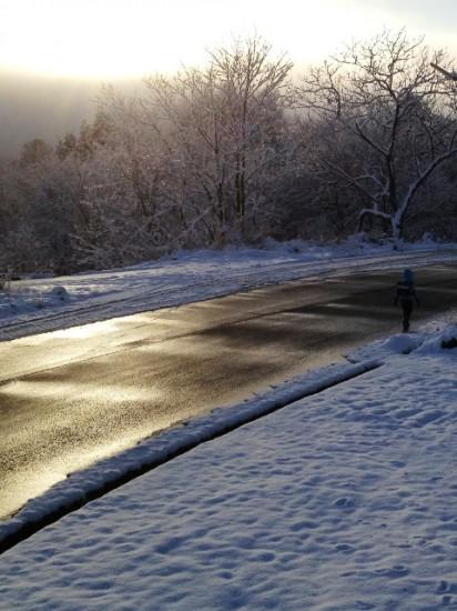 今朝の気温はマイナス5度!1