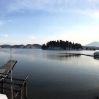 野尻湖へわかさぎ釣りへ。。20180227