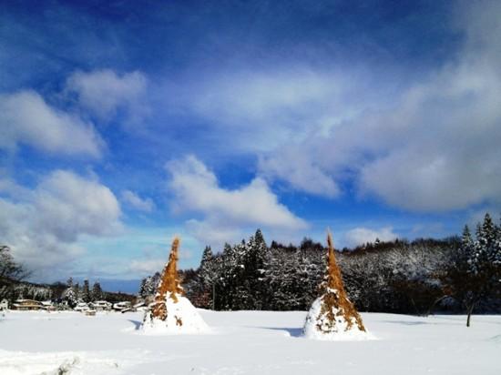消防団消火栓雪掘り20121202-3