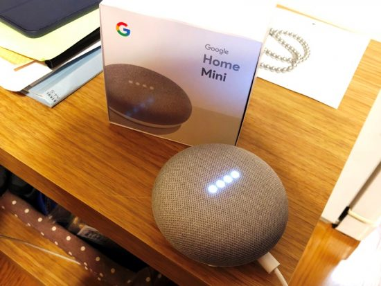 Googlehomemini導入20180321
