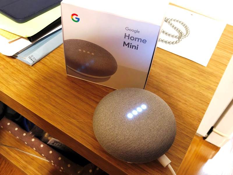 Google Home Mini導入20180321