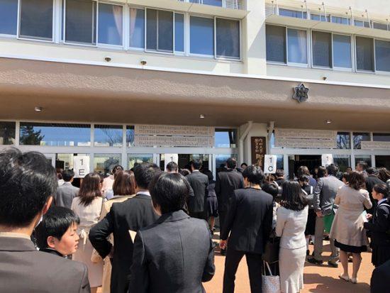 中学校入学式20180405-1