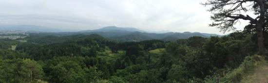 春日山城へ20150531-6