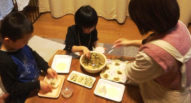 今夜は餃子!20130114