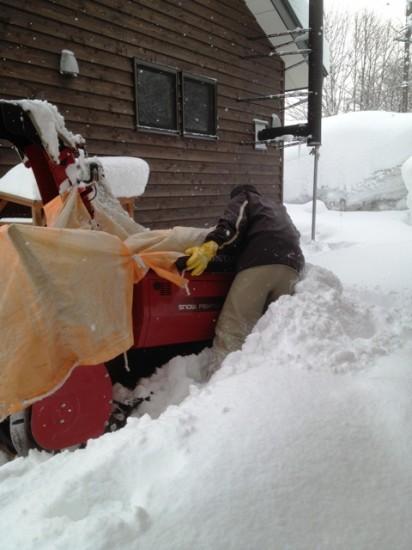 大雪・除雪の1日20130127