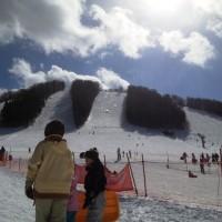 戸隠スキー場へ 20130210