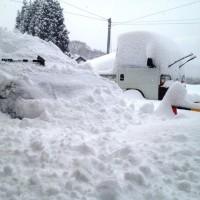 久しぶりの大雪20130216