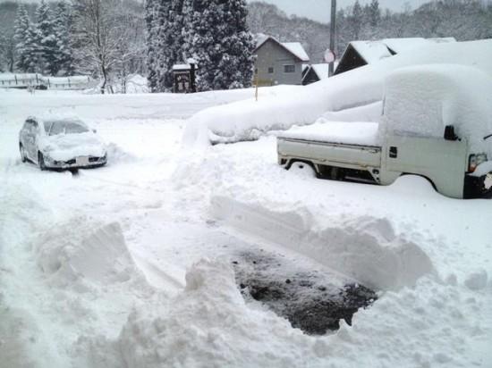 久しぶりの大雪20130216-2