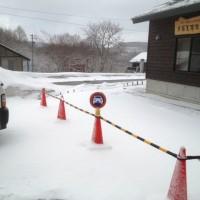 まだ雪が。。。
