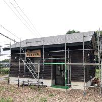 本社事務所壁塗装20180827
