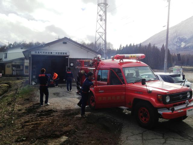 消防団月例機械点検20130407