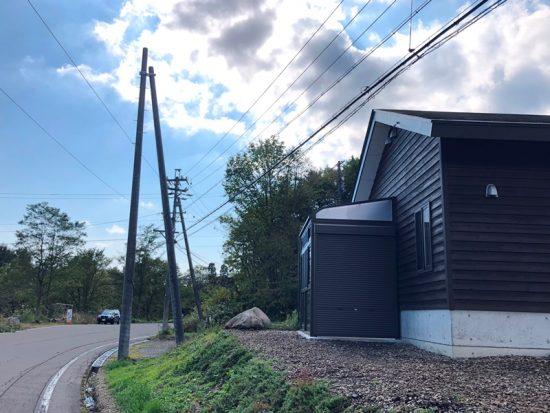 事務所脇倉庫完成20181106